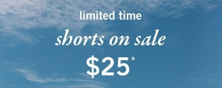 Shorts on Sale $25 from Abercrombie Kids