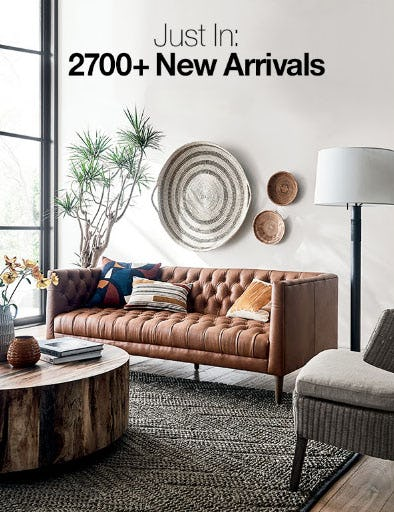 Just In: 2700+ New Arrivals from Crate & Barrel