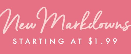 New Markdowns Starting at $1.99 from PAPYRUS
