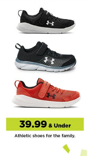 $39.99 & Under Athletic Shoes from Kohl's