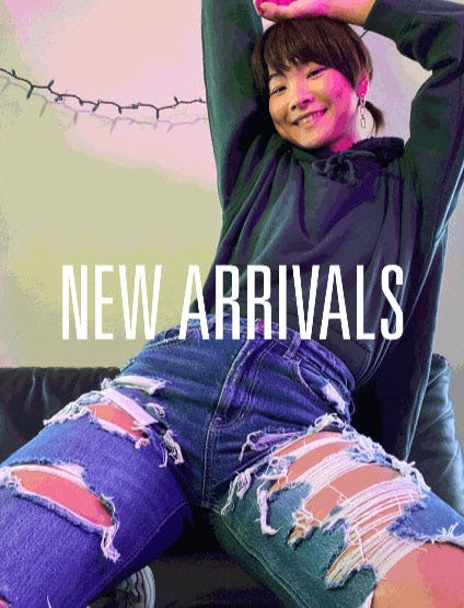 Shop New Arrivals from American Eagle Outfitters