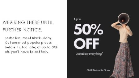 Up to 50% Off Just About Everything from Ted Baker London