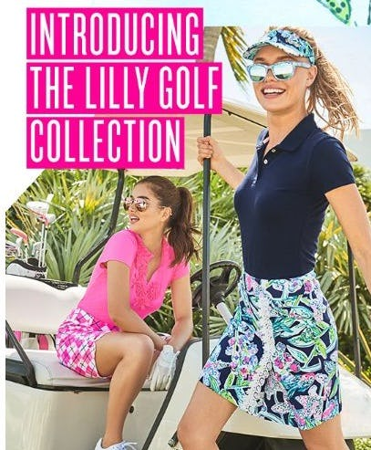 Our New Golf Collection from Lilly Pulitzer