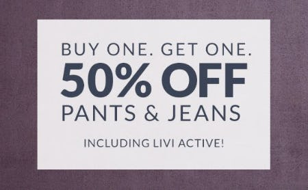Buy One, Get One 50% Off Pants & Jeans from Lane Bryant