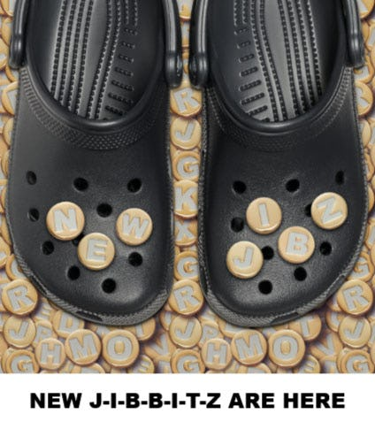 New J-I-B-B-I-T-Z are Here from Crocs