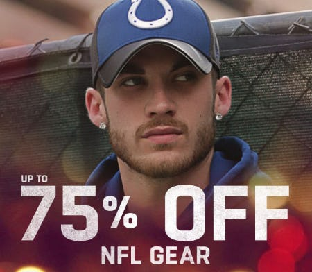 Up to 75% Off NFL Gear