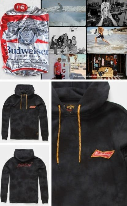 Introducing Billabong x Budweiser collection from Tillys