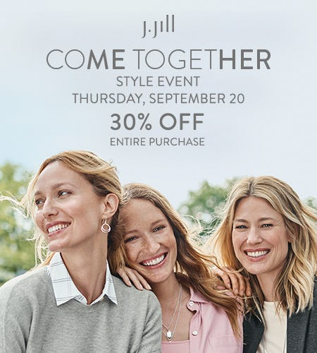 Come Together Style Event from J.Jill