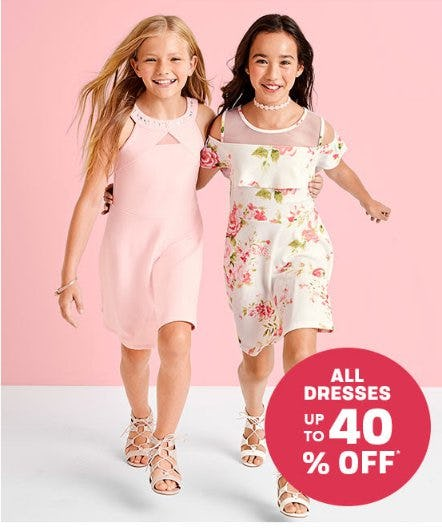 All Dresses up to 40% Off