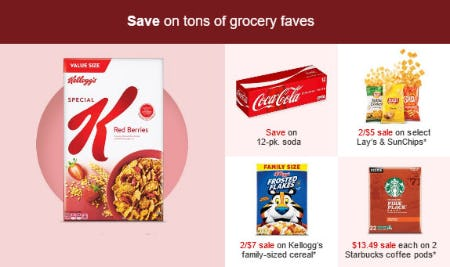 Save on Tons of Grocery Faves