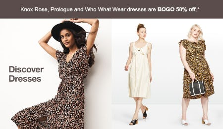 BOGO 50% Off Dresses