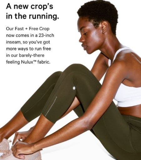 A New Crop's in the Running from lululemon