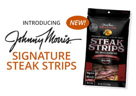 Introducing The New Johnny Morris Signature Series Steak Strips from Cabela's