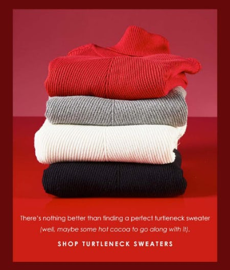 The Turtleneck Sweaters from Versona Accessories