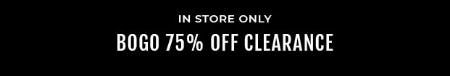 BOGO 75% Off Clearance from Torrid