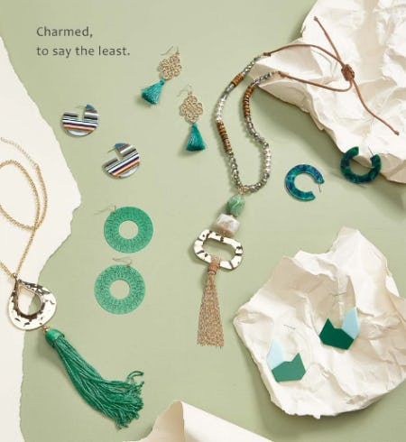 The Green Jewelry from Versona Accessories