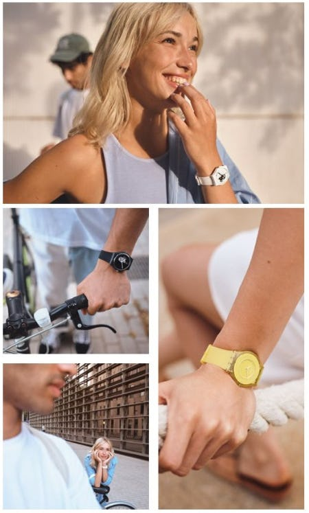 Fresh Looks and Popular Styles from Swatch