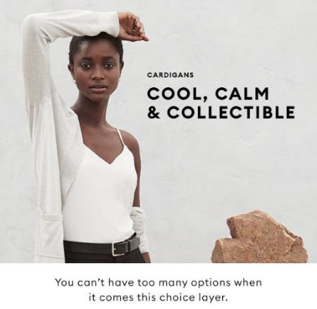 Cool, Calm & Collectible from Banana Republic