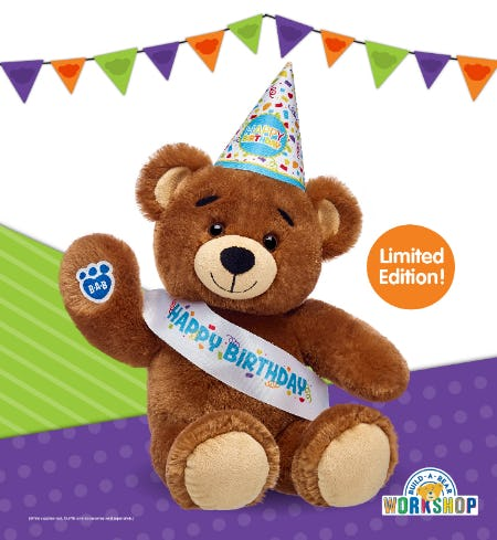 Bearemy® is Back! CeleBEARate the Birthday Bear at Build-A-Bear Workshop!® from Build-A-Bear Workshop