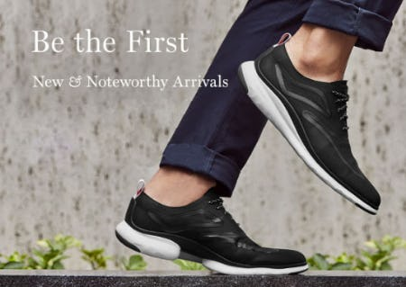 Shop New Arrivals from Cole Haan