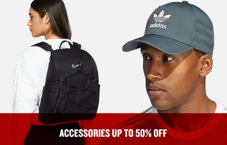 Accessories Up to 50% Off from JD Sports
