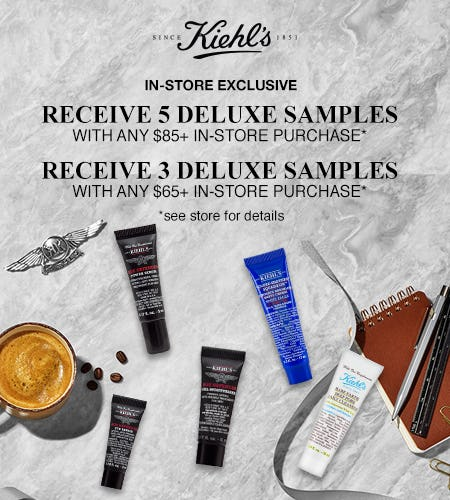 Shop Gifts for Dad & Score Free Samples! from Kiehl's