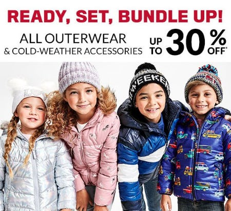 All Outerwear & Cold-Weather Accessories up to 30% Off