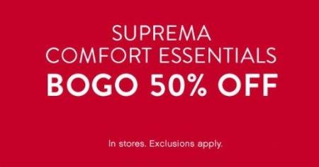 BOGO 50% Off Suprema Comfort Essentials from Catherines Plus Sizes