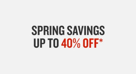 Up to 40% Off Spring Savings from Finish Line