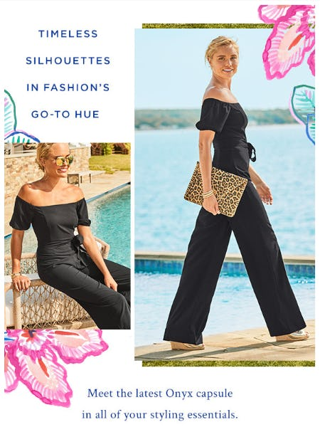 The Latest Onyx Capsule from Lilly Pulitzer