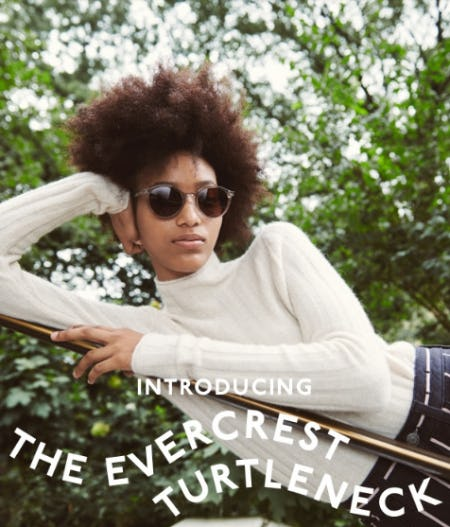 Introducing The Evercrest Turtleneck from Madewell