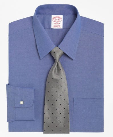 Madison Classic-Fit Dress Shirt, Non-Iron Point Collar