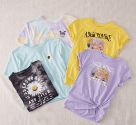 Summer to a Tee from Abercrombie Kids