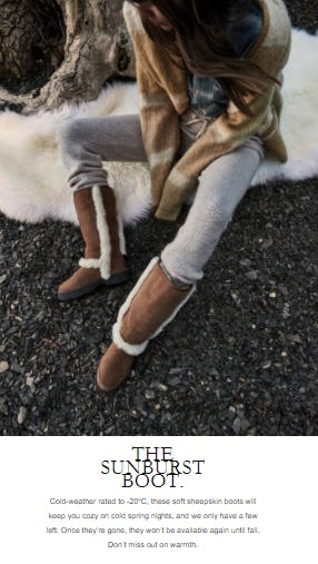 The Sunburst Boot from Ugg