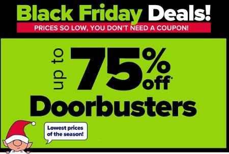 Up to 75% Off Doorbusters from Belk