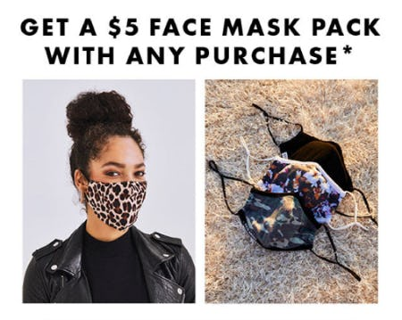 Get a $5 Mace Mask Pack with Any Purchase from DSW Shoes
