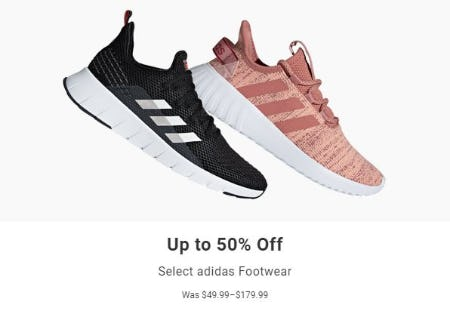 Up to 50% Off Select Adidas Footwear from Dick's Sporting Goods