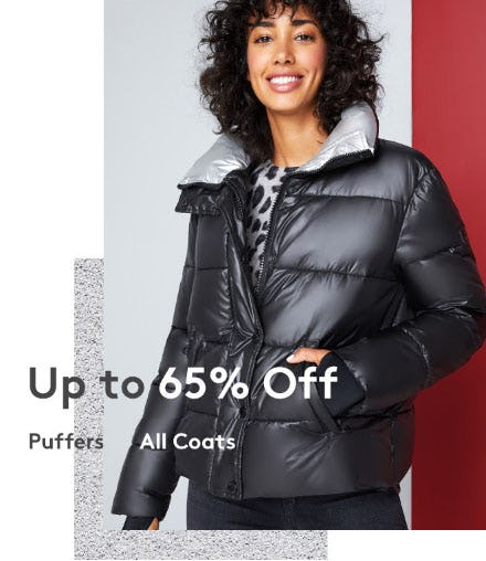 Up to 65% Off Puffers & Coats