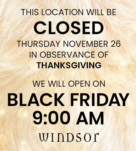 Get Your Shop On! Black Friday Hours from Windsor