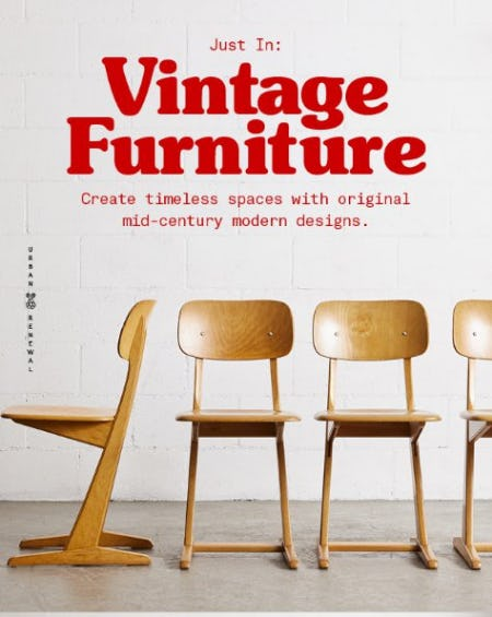 Just In: Vintage Furniture