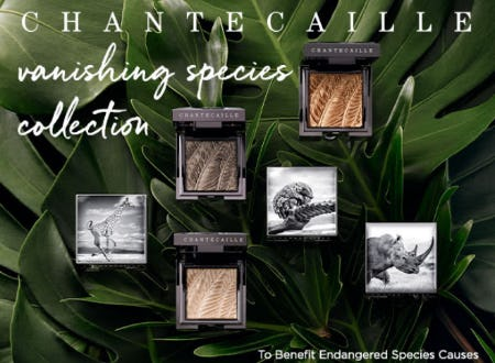 Our New Chantecaille Vanishing Species Collection