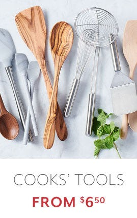 Cooks' Tools from $6.50 from Sur La Table