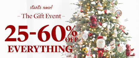 25-60% Off Everything