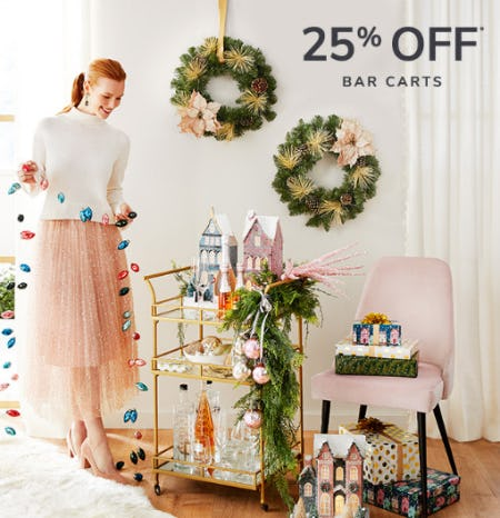 25% Off Bar Carts from Pier 1 Imports