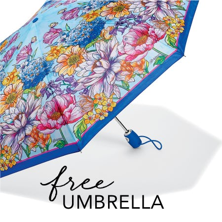 FREE Enchanted Garden Umbrella