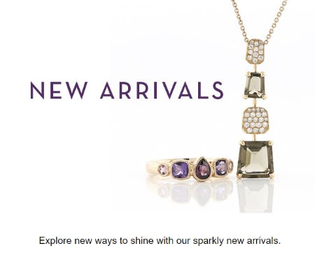 Sparkly New Arrivals from Ben Bridge Jeweler