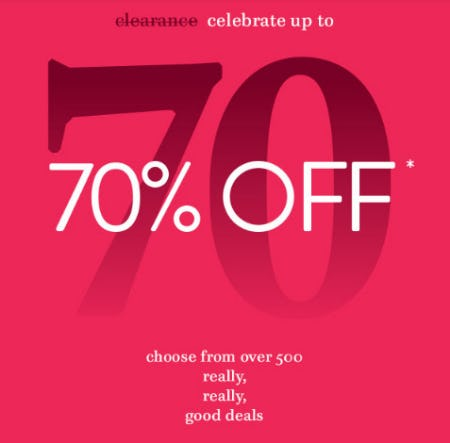 Up to 70% Off Clearance from Littman Jewelers