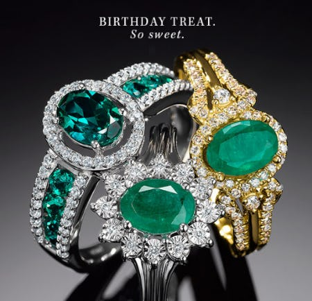 Elegant in Emerald from Littman Jewelers