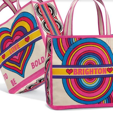 Our Gift To YOU – RAINBOW BRIGHT TOTE from Brighton
