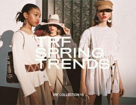 TRF Spring Trends from ZARA